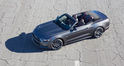 2015 Ford Mustang Convertible Efficiency