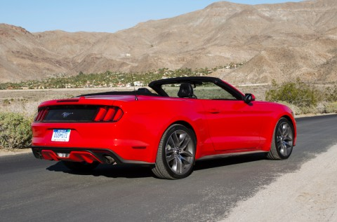 2015 Ford Mustang Convertible Safety