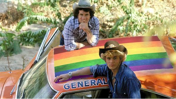 rainbow flag general lee