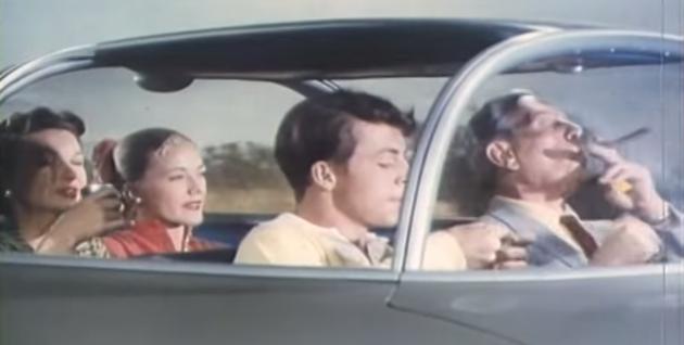 1956 General Motors autonomous driving film, set in 1976