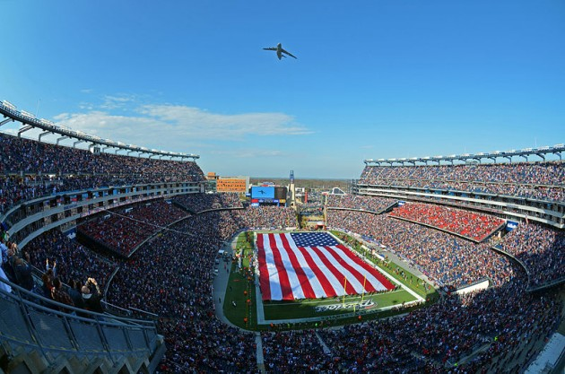 Gillette Stadium - New England - best games and stadiums to tailgate