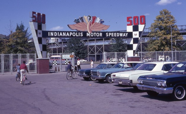 History of Indianapolis Motor Speedway 1967 entrance