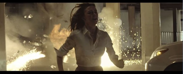 Hyundai Grandeur Ad Features DC Comics Superheroes woman screaming running