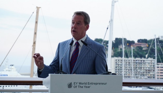 Bill Ford Earns EY Special Recognition Award