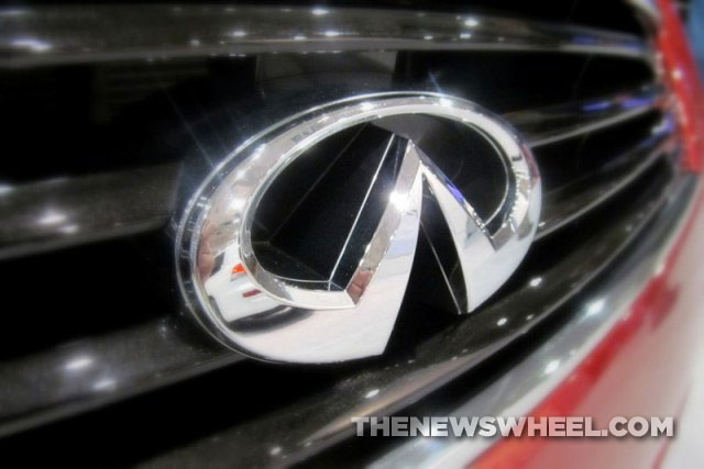 Behind The Badge Is The Infiniti Emblem A Road Or A Mountain The News Wheel
