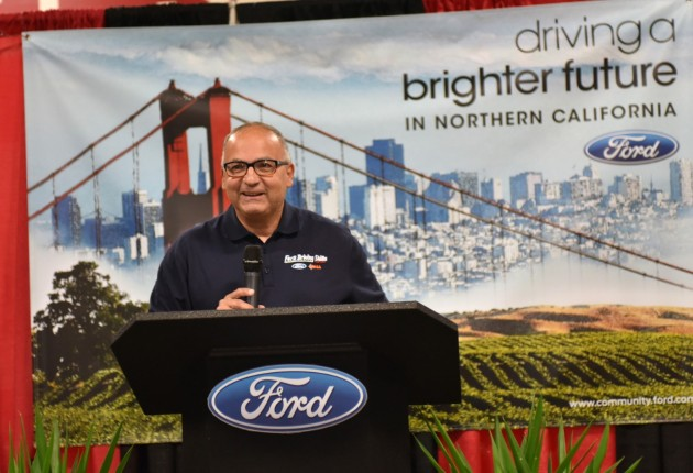 Jim Vella, president, Ford Motor Company Fund and Community Services