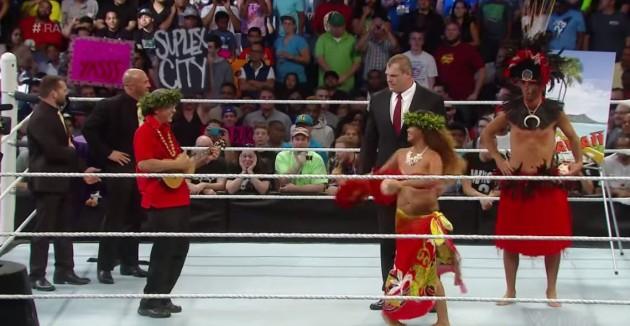 Kane and Hawaiian Dancers Raw