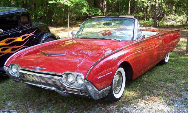 JFK's Thunderbird did not include Fuzzy Dice. Photo: Pete Stephens