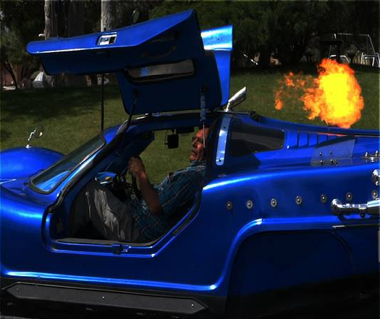 Lazer 917 Flame Thrower
