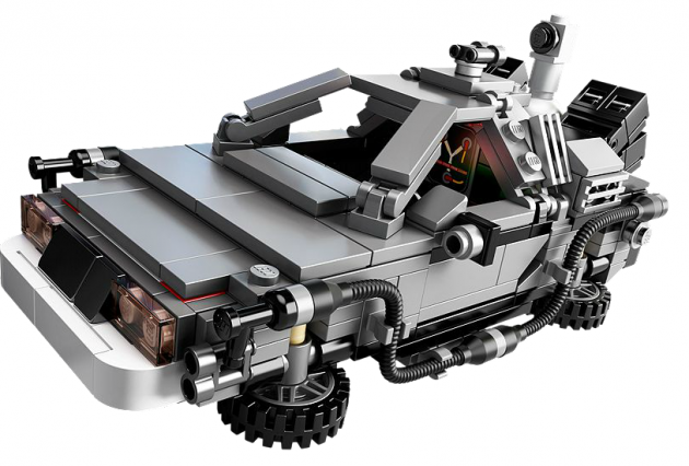 The Lego DeLorean Photo: Lego