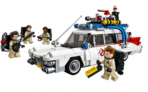 The Lego Ecto-1 Photo: Lego