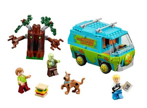 The Lego Mystery Machine  Photo: Lego