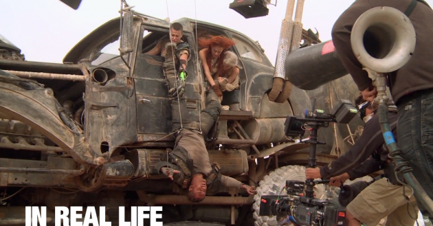 Mad Max: Fury Road behind the scenes footage