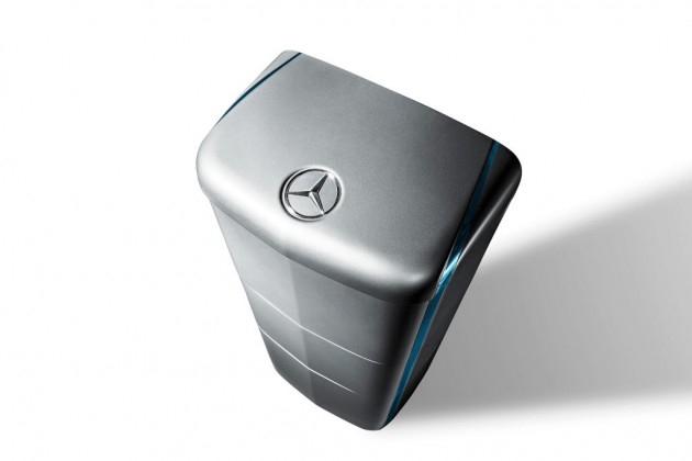 The Mercedes-Benz energy storage unit