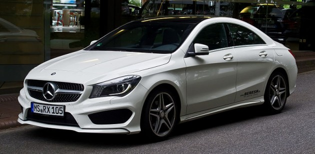 The Mercedes-Benz CLA-Class had a monthly increase of 132% Photo: M 93
