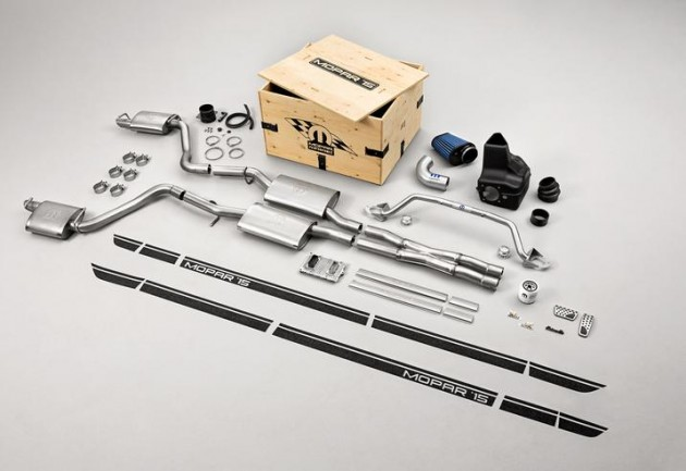 Mopar '15 performance kits are now available for order