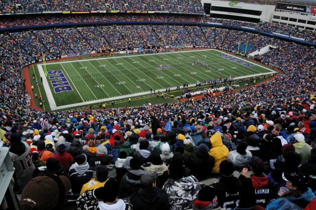 Ralph Wilson Stadium - Buffalo Gillette Stadium - New England