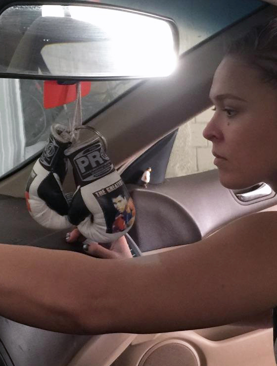 Buy Ronda Rousey's 2005 Honda Accord LX (And All the Crap ...