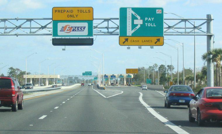 A toll road