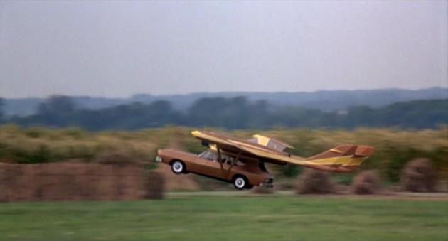 Scaramanga's flying AMC Matador Coupe from The Man with the Golden Gun