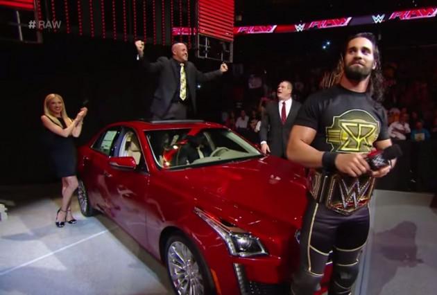 WWE Seth Rollins Cadillac