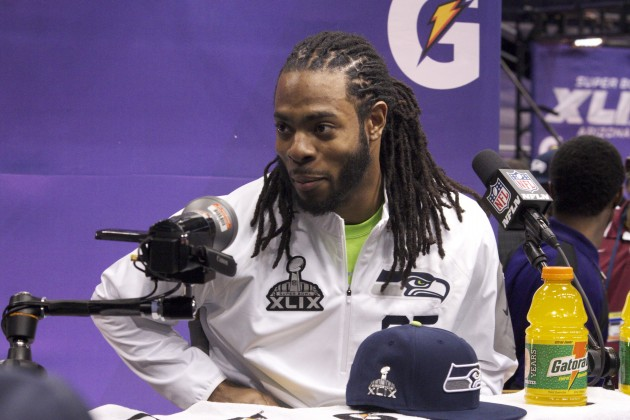 NFL player Richard Sherman.