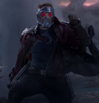 Who knew Star-Lord had the power to see the future? Photo: Marvel Entertainment