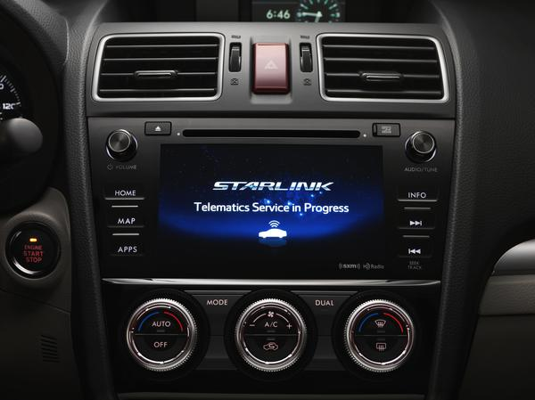 2016 Subaru Forester Interior Starlink