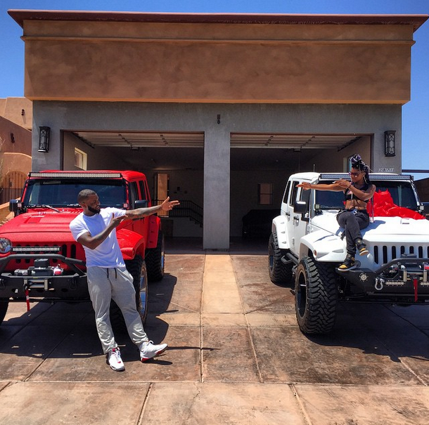 Game and the two Wranglers he bought.