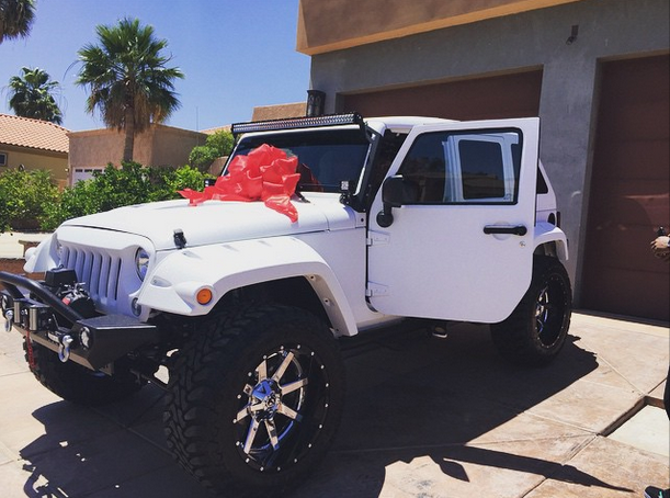 Customized 2015 Jeep wrangler