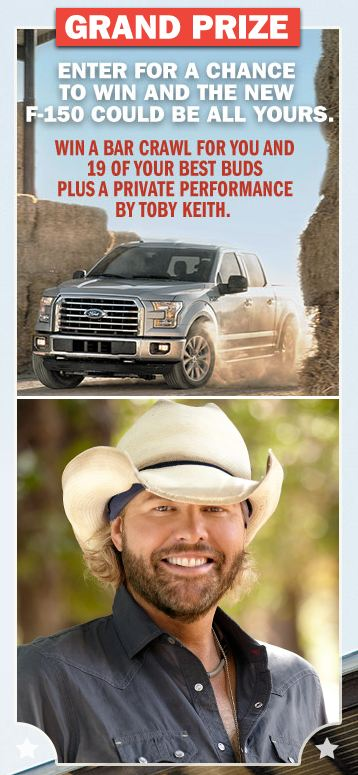 Toby Keith Sweepstakes