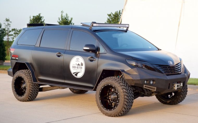 Toyota Ever-Better Expedition Ultimate Utility Vehicle 2015 SEMA Show display
