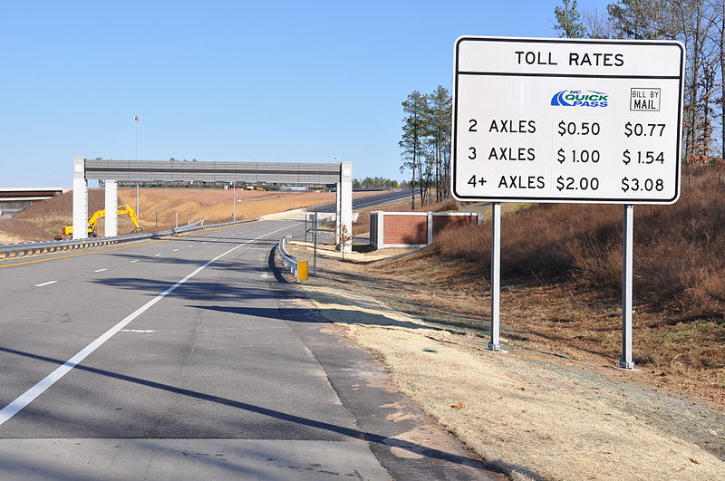 triangle expressway toll - most expensive toll roads in america