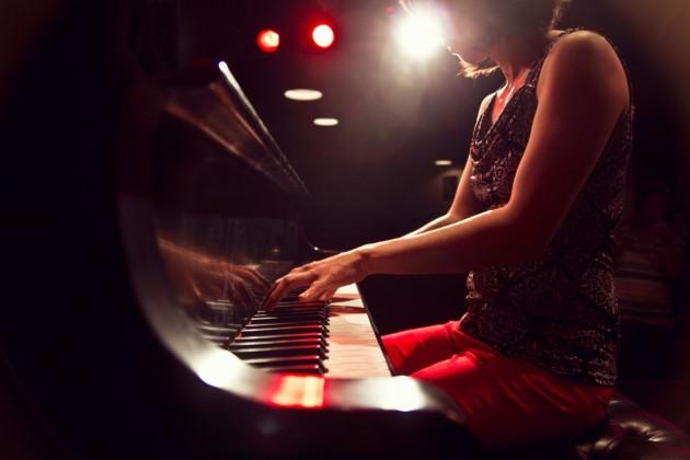 Vienna Teng plays piano at The Ark