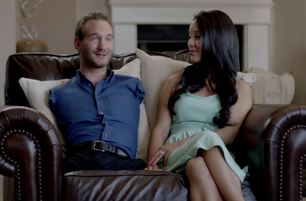 limbs Man nick vujicic with no
