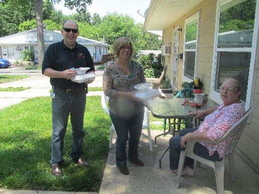GM Wentzville Elder Court BBQ