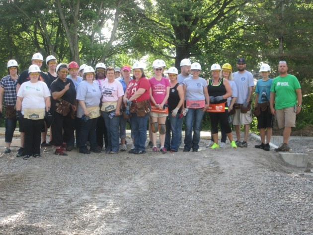 GM Wentzville Volunteers Partner with Habitat for Humanity of St. Charles County for Women Build