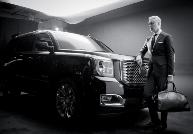 MICHAEL BASTIAN(!!!) and the GMC Yukon Denali