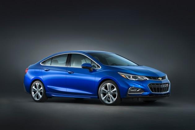 The new 2016 Chevrolet Cruze