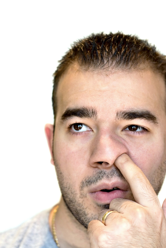 how to stop nose picking in adults