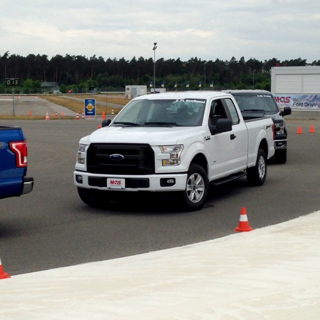 Ford Holds Ride-and-Drive Event at Hockenheimring for US Military
