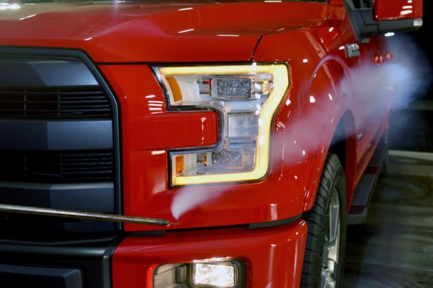 2015 Ford F-150 performance windtunnel