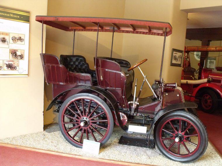 1900 Daimler Mail Phaeton