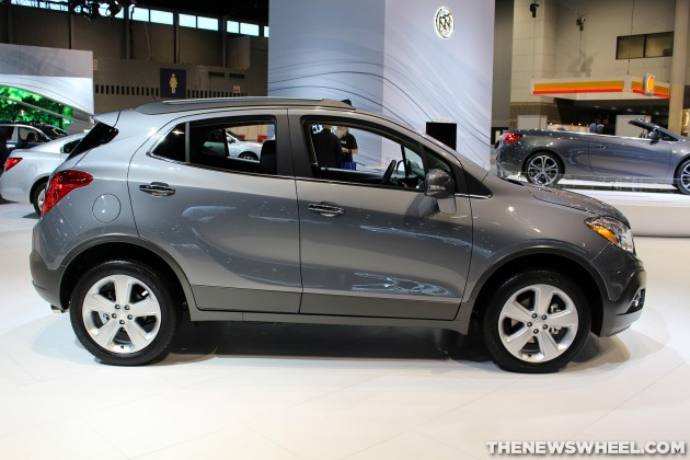 2015 buick encore overview the news wheel. Black Bedroom Furniture Sets. Home Design Ideas