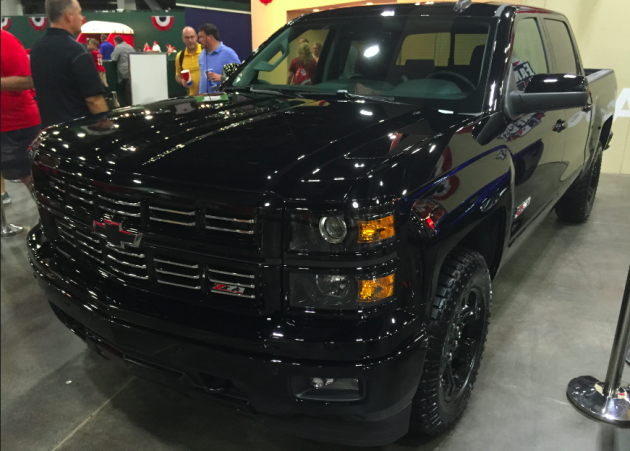 The 2015 Chevy Silverado Midnight Edition