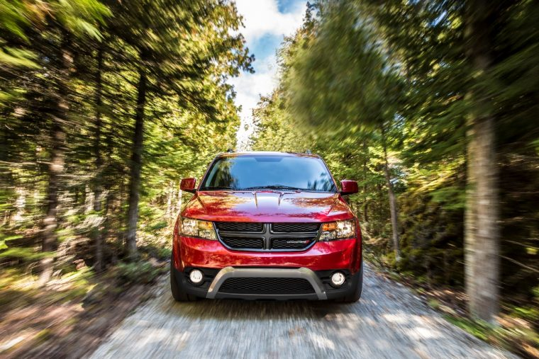 2015 Dodge Journey front fascia