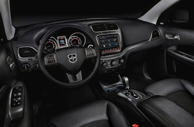 2015 Dodge Journey interior