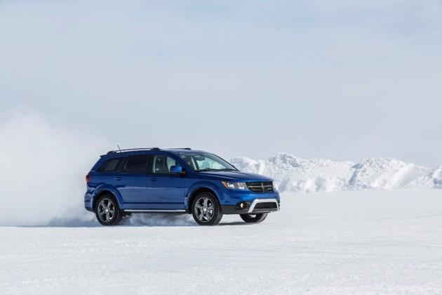 2015 Dodge Journey snow