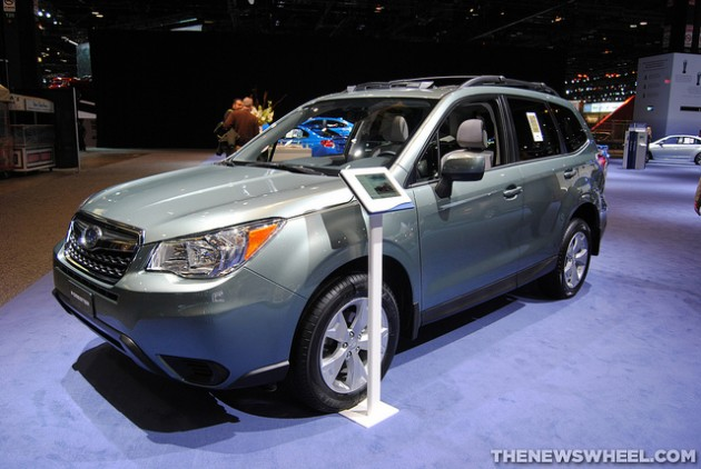 Subaru of Indiana Automotive, which produces the Forester (pictured) and the Outback, has announced a $140.2 million investment that will create more than 1,200 jobs in Indiana