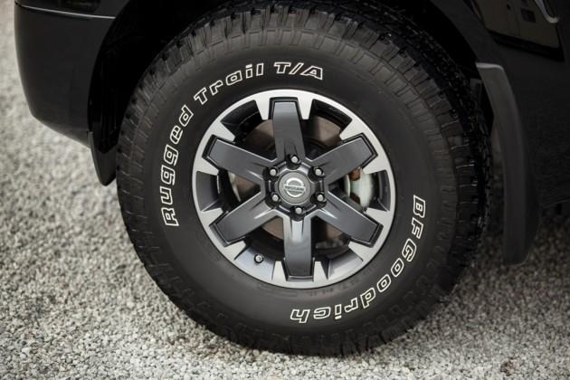 2015 nissan frontier truck wheel